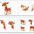 Djeco 3D Paper Models to Make - Pretty Woodland Creatures additional 3