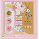 Djeco Jewellery Making Kit - Beads & Flowers additional 1