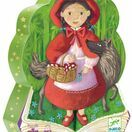 Djeco Silhouette 36 Piece Jigsaw Puzzle - Little Red Riding Hood additional 1
