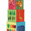 Djeco Nature and Animal Stacking Cubes additional 1