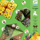 Djeco Green Fortune Teller Origami Papers Green additional 1