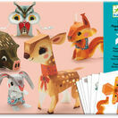 Djeco 3D Paper Models to Make - Pretty Woodland Creatures additional 1