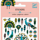 Djeco Mini Stickers - Feathers & Peacocks additional 1