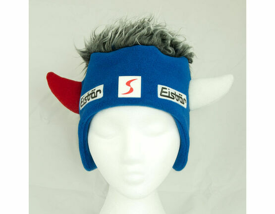 Eisbar Nestor Hat - Blue with Grey Hair