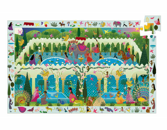 Djeco Observation 200 Piece Jigsaw Puzzle – 1001 Arabian Nights