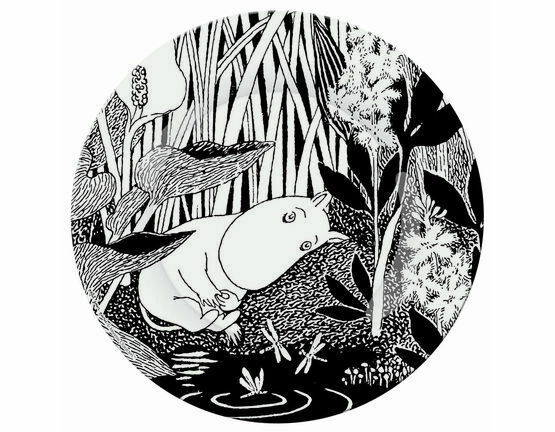 Petit Jour Paris Moomin Side Plate - The Dreaming Moo