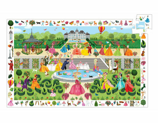 Djeco Observation 100 Piece Jigsaw Puzzle - Garden Party