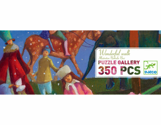 Djeco Gallery 350 Piece Jigsaw Puzzle - Wonderful Walk