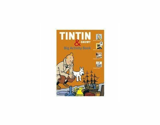 Tintin & Snowy Activity Book
