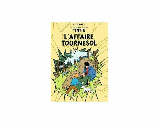 Tintin Postcard - L'Affaire Tournesol