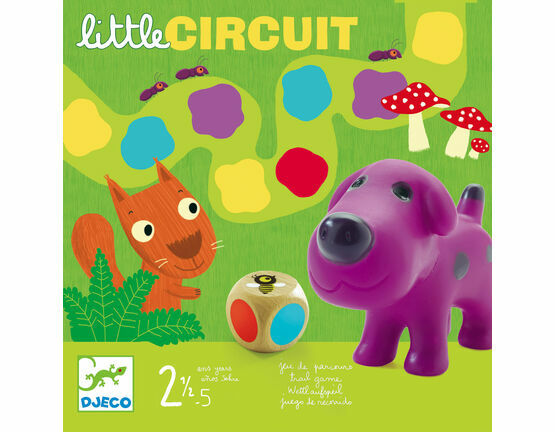 Djeco Board Game - Little Circuit