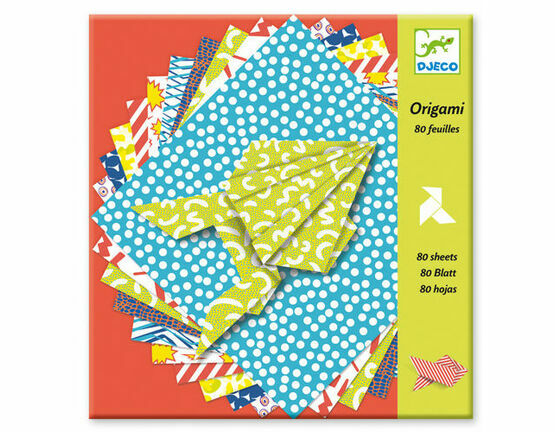 Djeco 80 Sheets Origami Paper