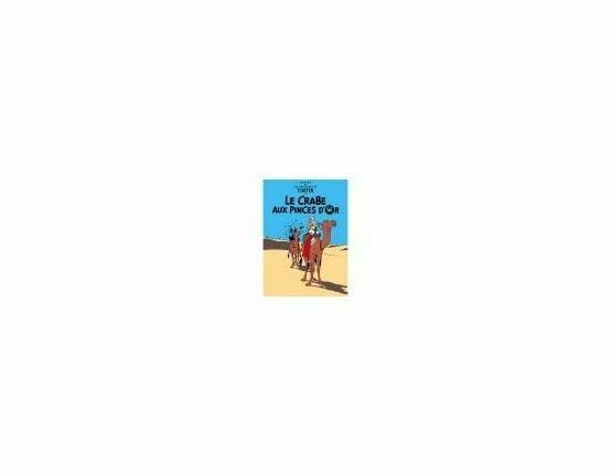 Tintin Postcard - Le Crab Aux Pinces D'or