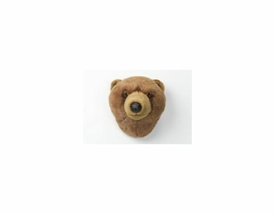 Wild & Soft Trophy Head - Brown Bear