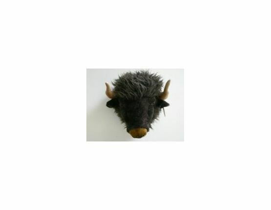 Wild & Soft Trophy Head - Alex the Buffalo