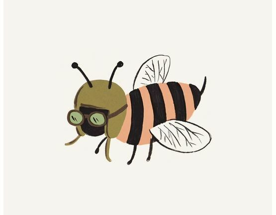 Rifle Paper Co Bee Print