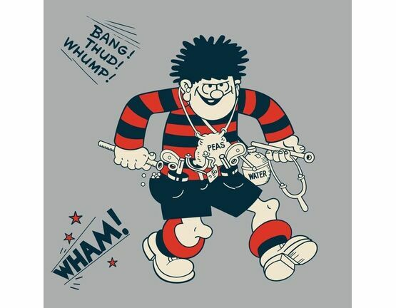 Hype Dennis the Menace Greeting Card - Wham