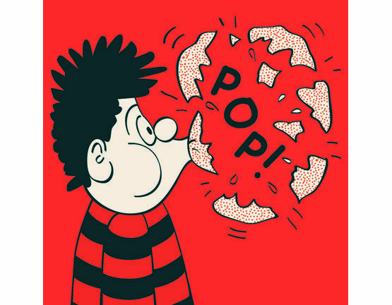 Hype Dennis the Menace Greeting Card - Pop
