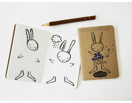 Wee Gallery Activity Books - 32 Ways to Dress a Bunny