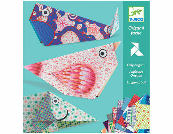 Djeco Origami Papers - Big Animals