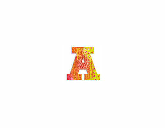 Djeco Wooden Letter A - Peacock