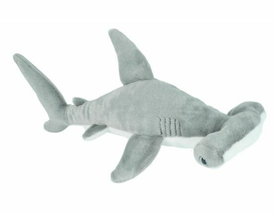 Wild Republic Mini Hammerhead Shark 25cm Cuddlekin Soft Toy