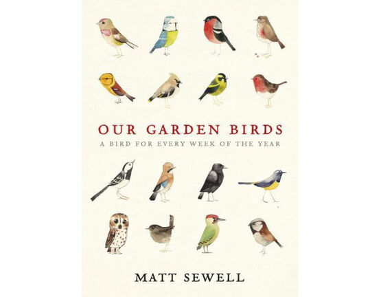 Books Our Garden Birds - Matt Sewell