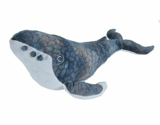 Wild Republic Humpback Whale Cuddlekins Soft Toy - 38cm