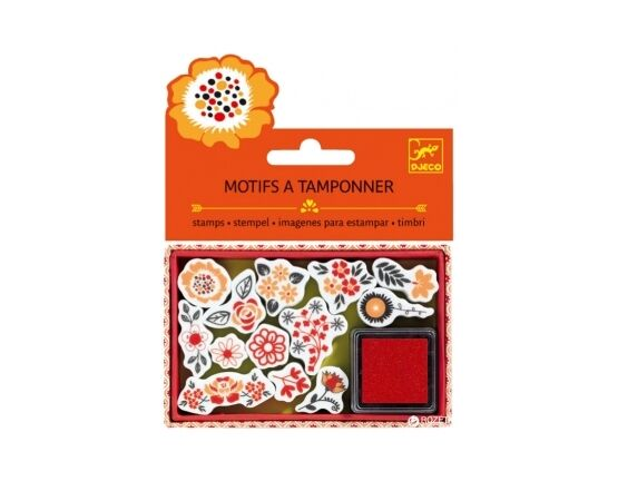 Djeco Mini Stamps - Flowers