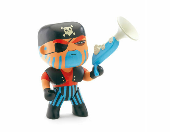 Djeco Pirate Figure - Jack Skull
