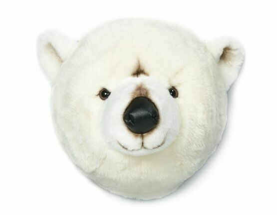 Wild & Soft Animal Trophy Head - Polar Bear