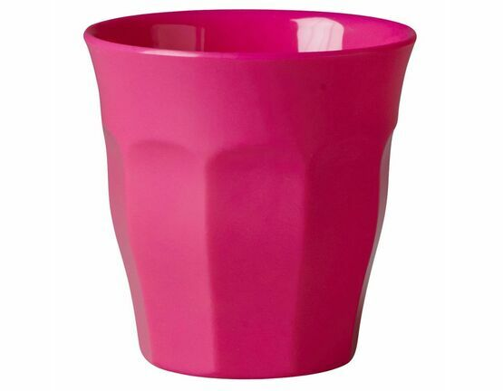 Rice Melamine Cup - Neon Pink