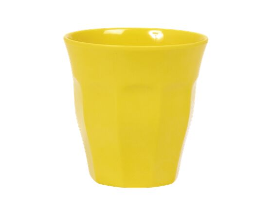 Rice Melamine Cup - Yellow
