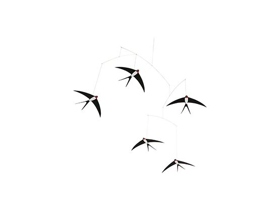 Flensted 5 Flying Swallows Mobile