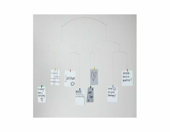 Flensted Mobiles Postcard Mobile with 8 Clips