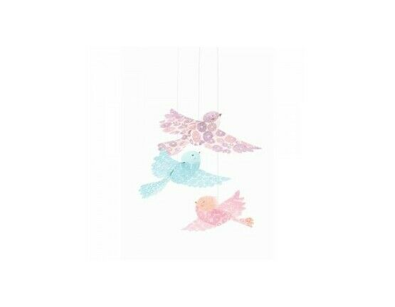 Djeco Hanging Decorations - Glitter Birds