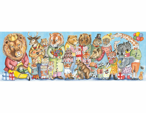Djeco 100 Piece Gallery Puzzle - Kings Party