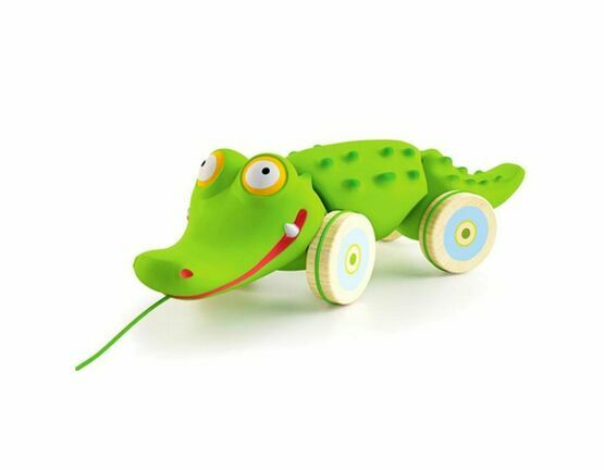 Djeco Pull Along Croc'n'roll Toy