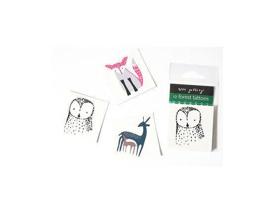 Wee Gallery Temporary Tattoos - Forest