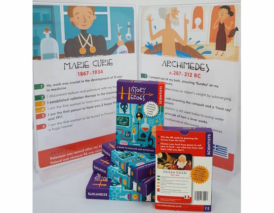 History Heroes Card Game - Scientists