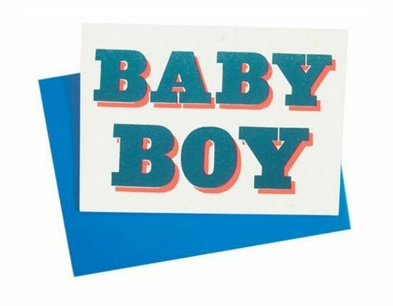 Dandy Star Baby Boy Card