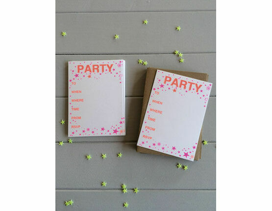 Petra Boase Confetti Set of 12 Party Cards