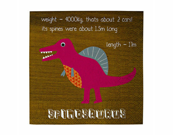 Meri Meri Dinosaur Party Small Napkins