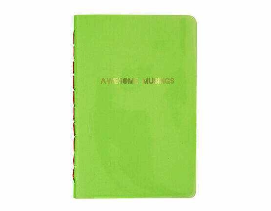 Meri Meri Awesome Musings Green Notebook