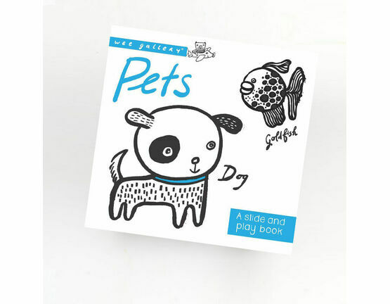 Wee Gallery Slide & Play Book - Pets