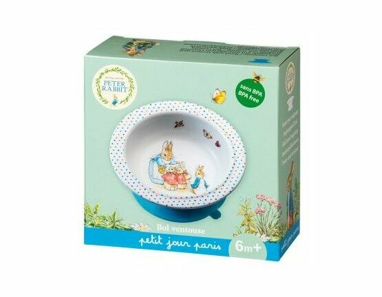 Petit Jour Bowl with Suction Pad - Peter Rabbit