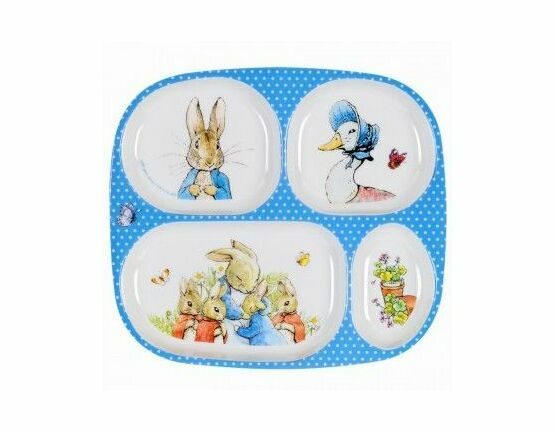 Petit Jour Peter Rabbit 4 Compartment Serving Tray