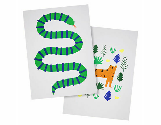 Meri Meri Jungle Art Prints