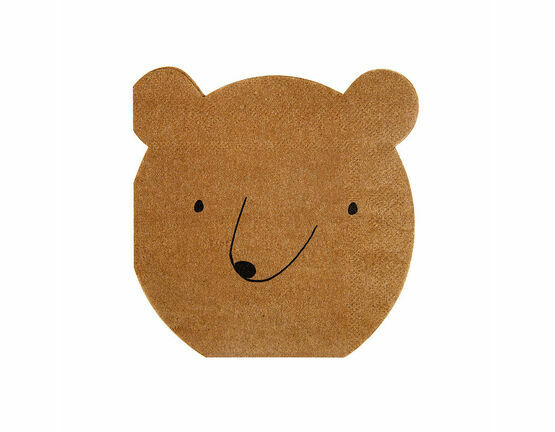 Meri Meri Small Bear Party Napkin