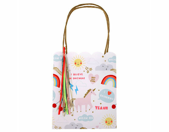 Meri Meri Rainbows & Unicorns Party Bags